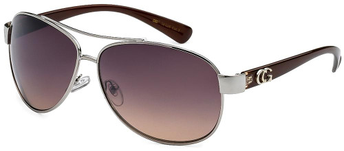 Lady's Color Aviator Brown