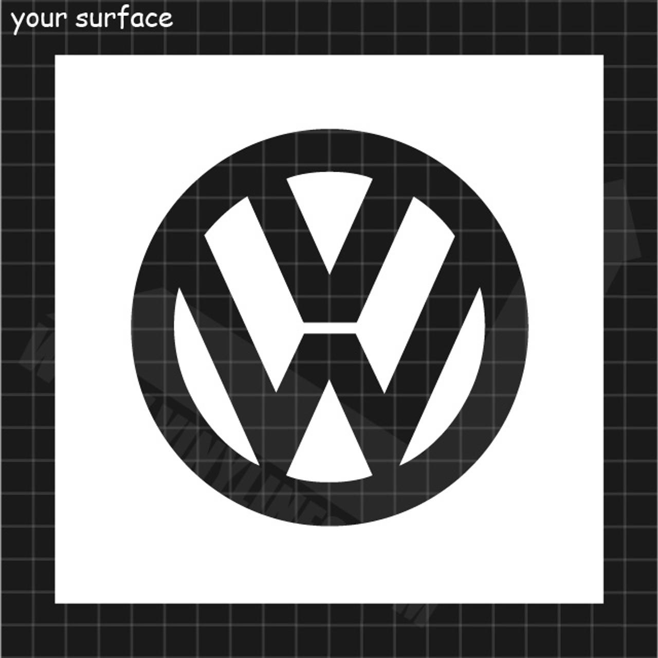 Vw Logo Paint Stencil