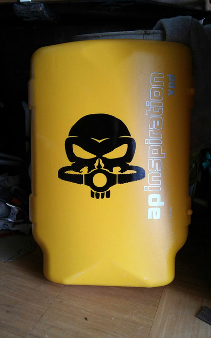Punisher Skull Rebreather Decal