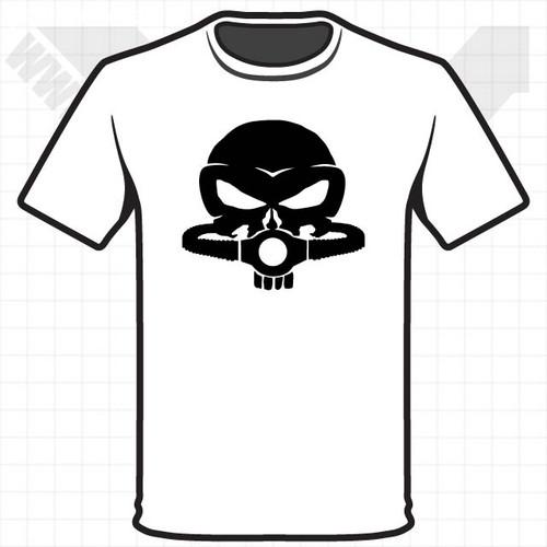 Punisher Skull Rebreather - Heat Transfer