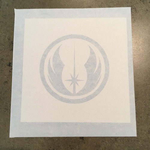 Star Wars Jedi Order in a circle Symbol