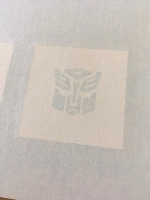 Transformers Autobot Symbol Paint Stencil
