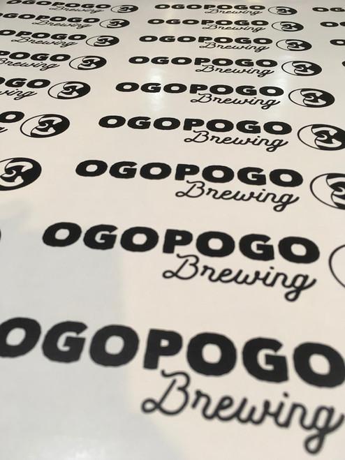 Ogopogo Brewing Logo Decal