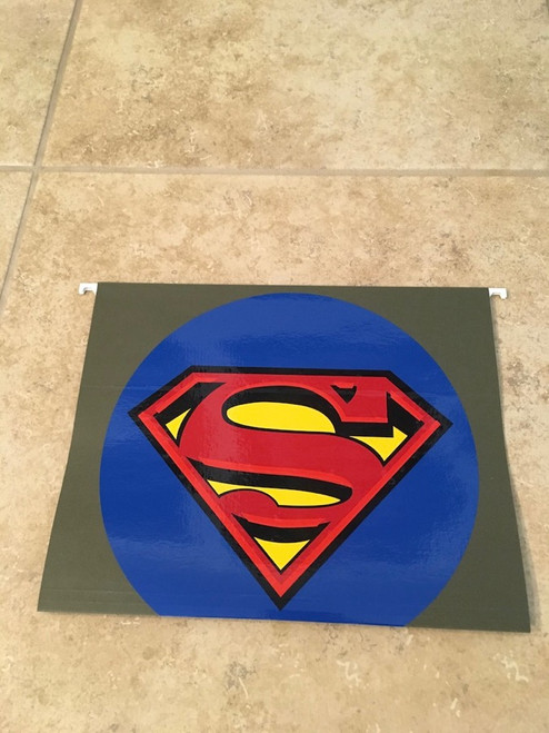 5 Color Classic Superman Symbol with 3D Effect