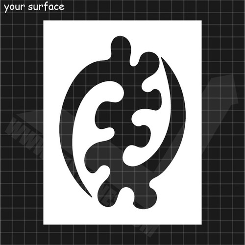 Illustrated example of the stencil.