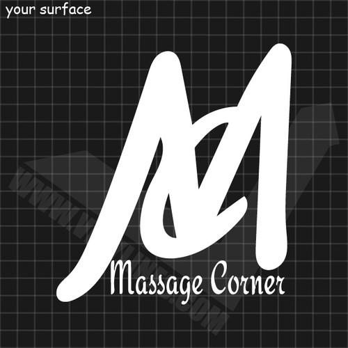 Massage Corner Logo Decal
