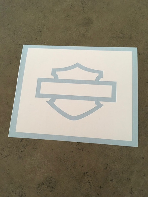 Shown without transfer tape