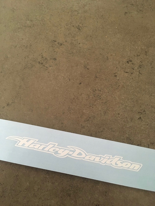 Decal shown without transfer tape.