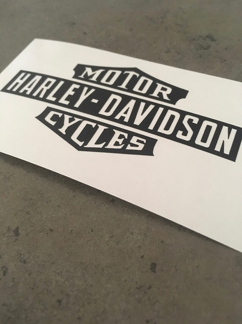 Decal shown in Matte Black