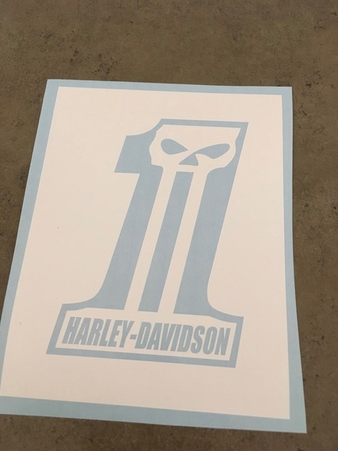 Stencil shown without transfer tape.