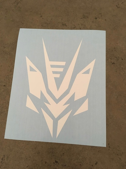 Matte White Decal