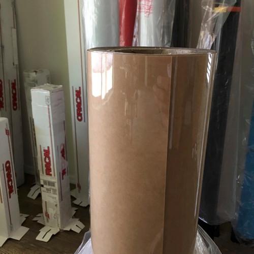 Clear 5-mil Semi-Rigid Polyester Vinyl