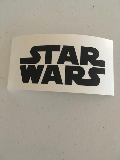 Star Wars Solid Logo Decal