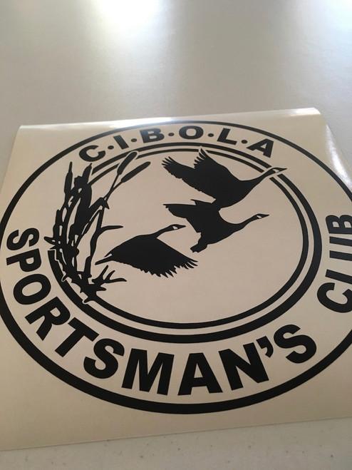 CIBOLA Sportman's Club Decal