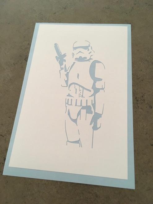 Opaque White Stencil Vinyl