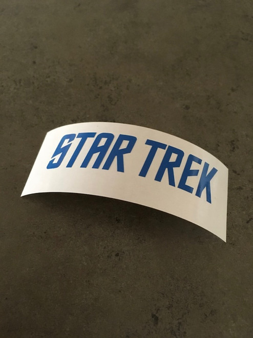 Star Trek Classic TV Series Logo Decal