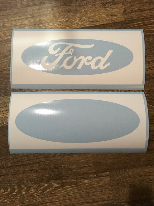Ford Oval Two Color Stencil