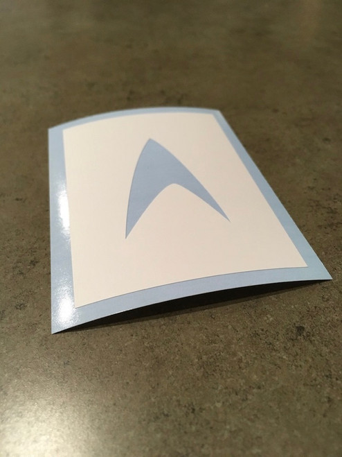 Star Trek Symbol Stencil