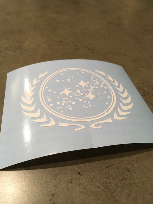 United Federation of Planets Symbol Decal