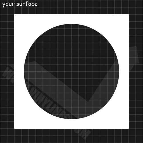 Shape of a Circle Stencil