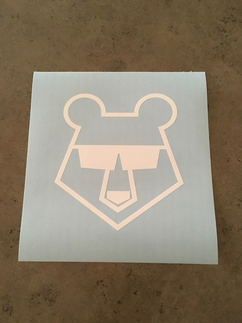 Stencil shown without transfer tape