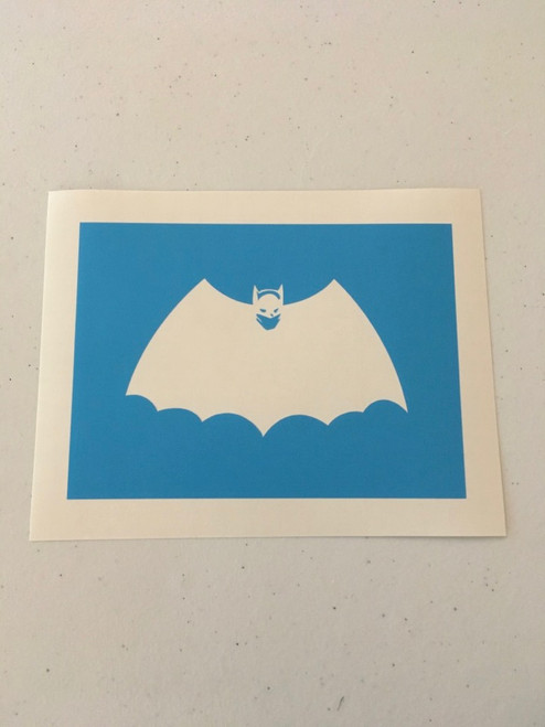 Translucent blue material, no transfer tape.
