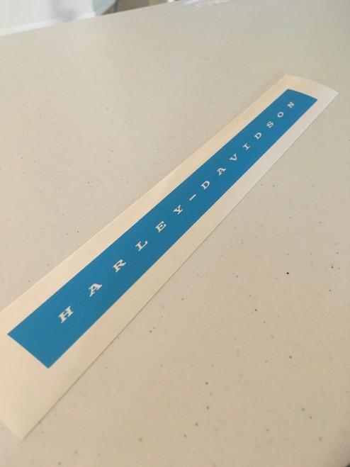 Translucent Blue stencil vinyl shown, no transfer tape.