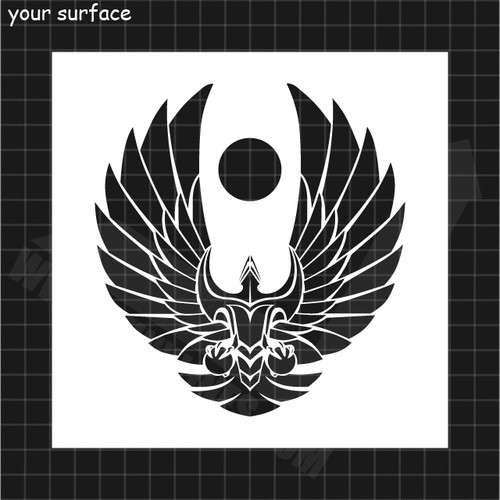 Romulan Republic Symbol Stencil