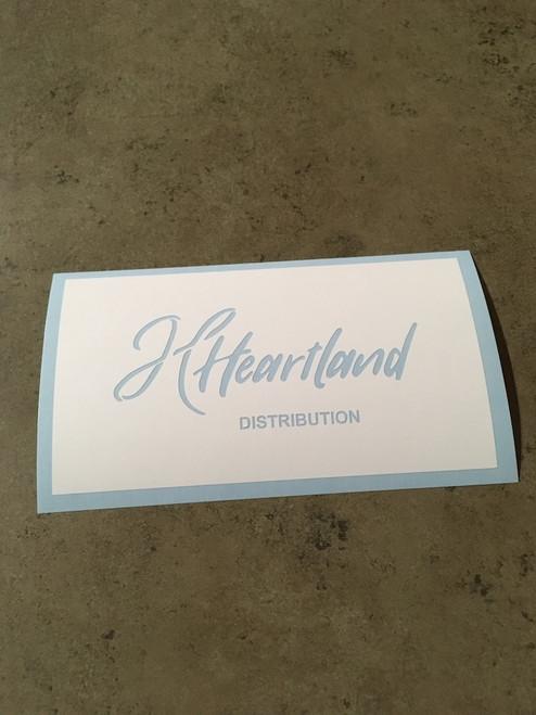 Heartland Distribution Logo Stencil
