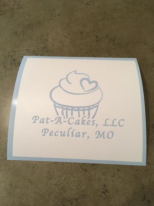 Pat-A-Cake Logo Stencil