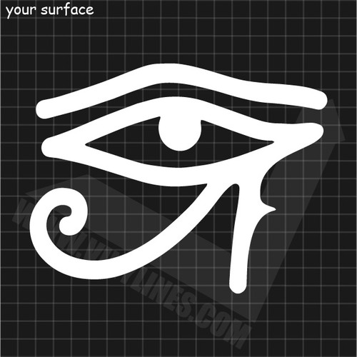Eye of Ra Decal