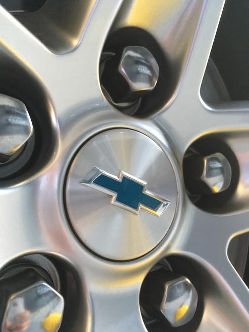 Chevy Bowtie Decals for Wheel Center Cap