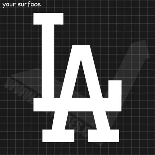 LA Dodgers Logo Decal