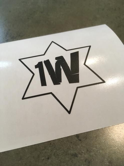 1 West Logo Decal