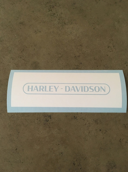 Harley-Davidson Text with Ring Stencil