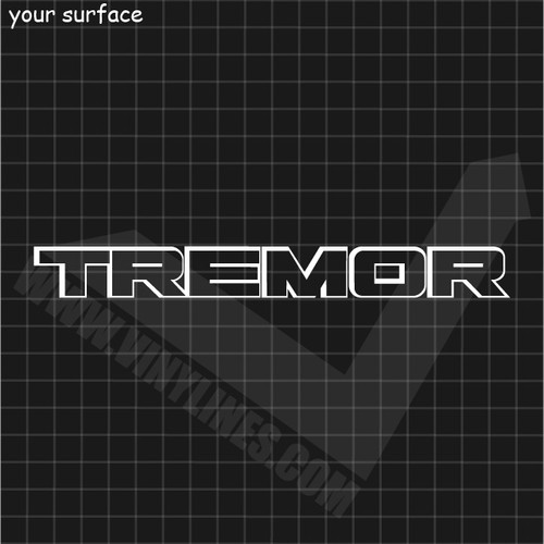 Ford Tremor Decal - No Center