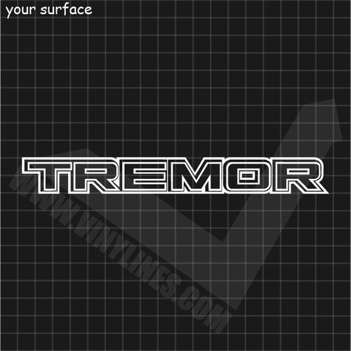 Ford Tremor Decal - Outlines