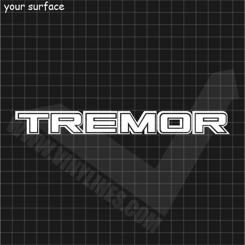 Ford Tremor Decal - Solid Center and Outline
