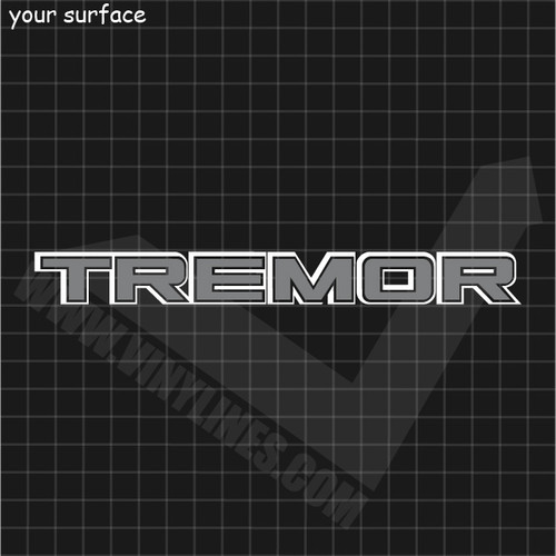 Ford Tremor Decal - 2 Color