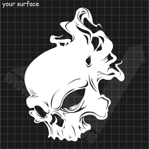 Skull No. 26 Decal
