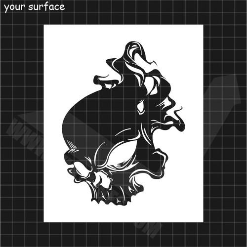 Skull No. 26 Stencil