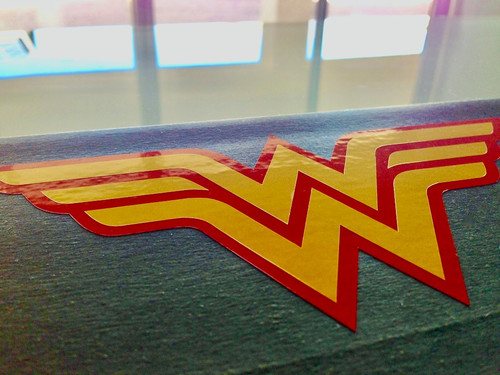 Classic Wonder Woman Symbol 2 Color Decal