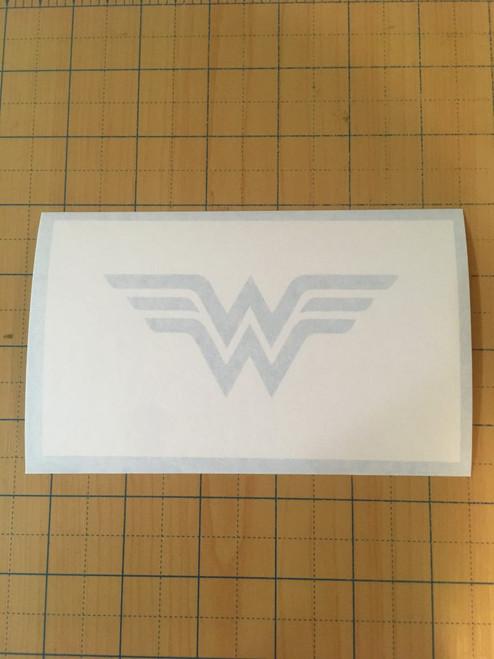 Classic Wonder Woman Symbol Stencil