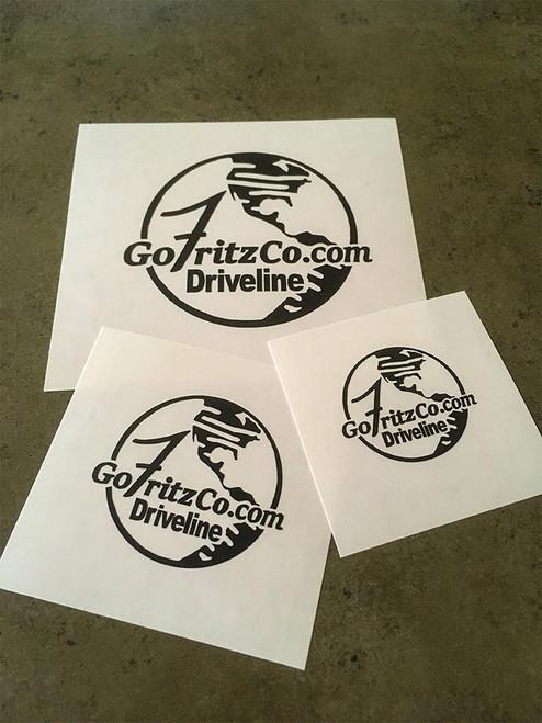 GoFritzCo.com Logo Decal