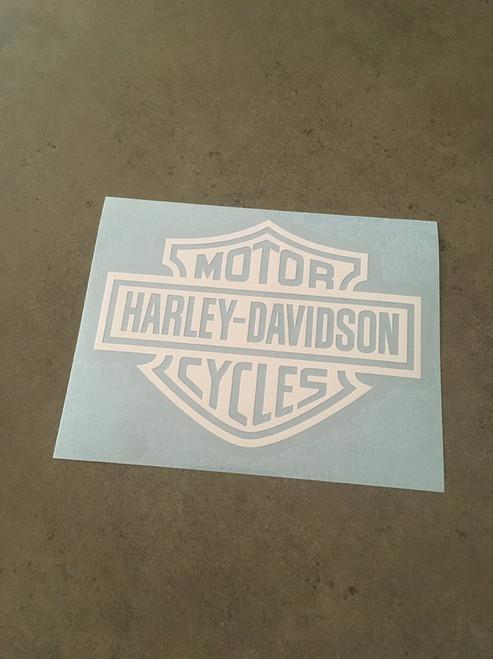 Harley Davidson Outer Logo Heat Transfer