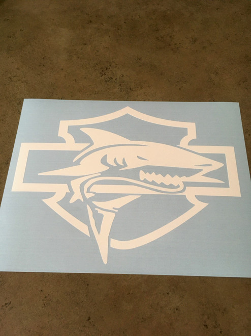 Shown without transfer tape.