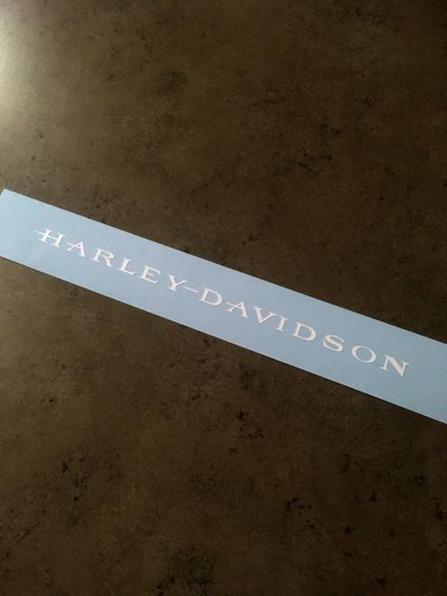 Harley-Davidson FXDX Font Decal