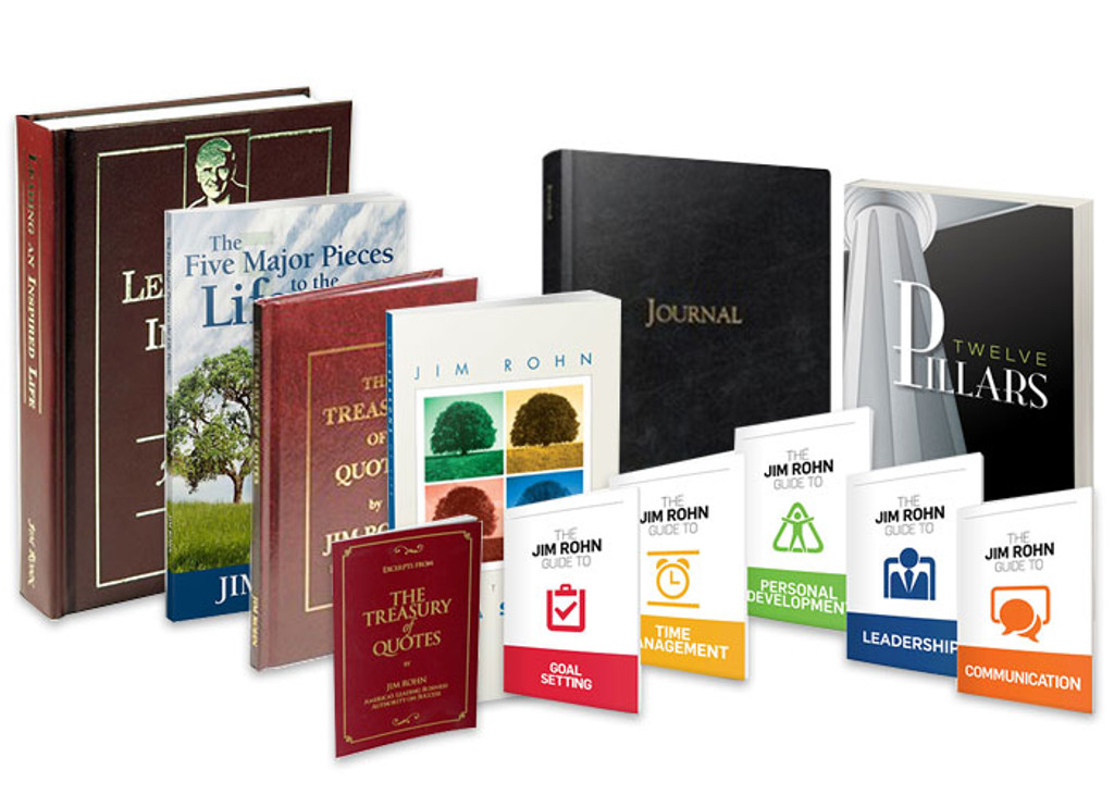 Jim Rohn Book Bundle