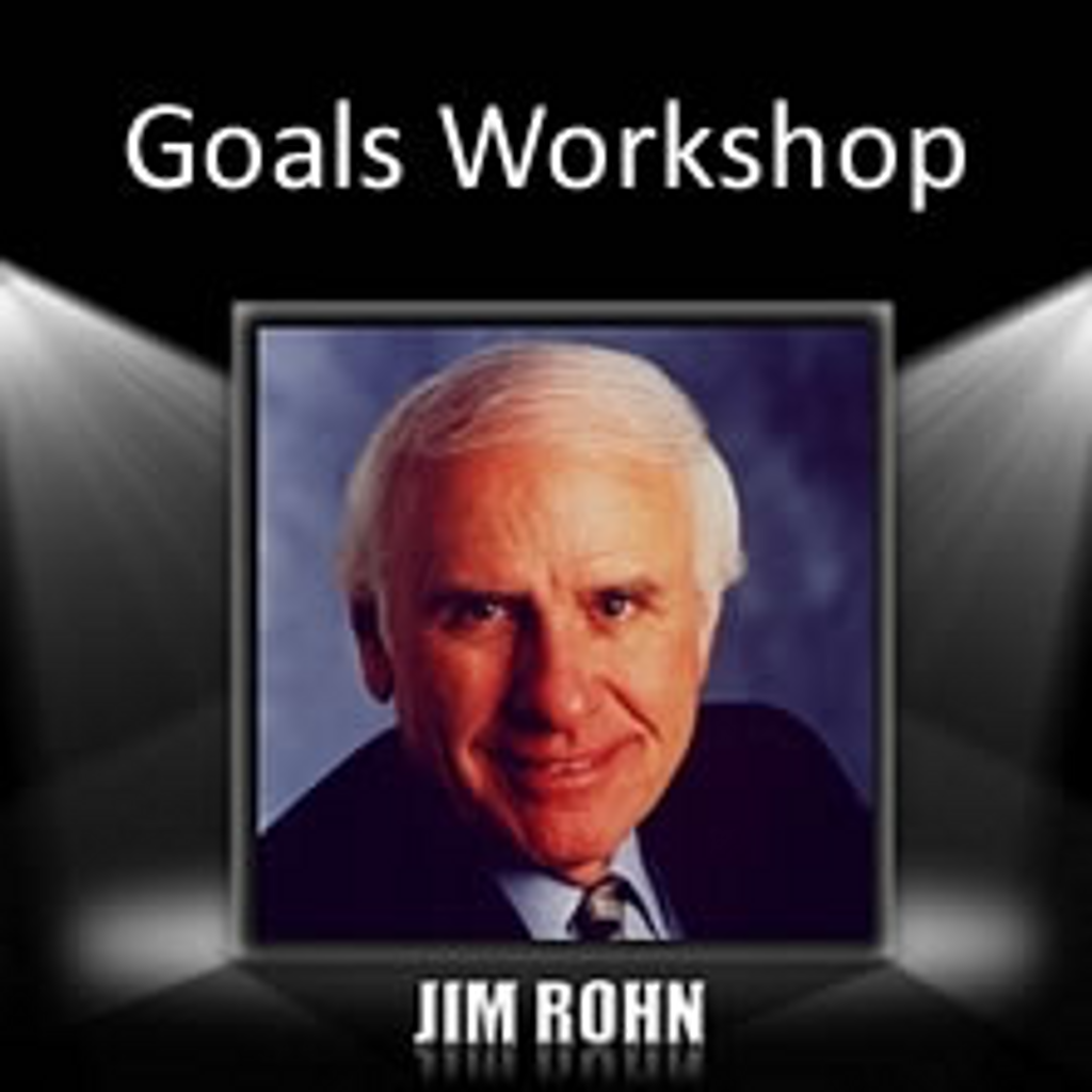 Goals Workshop MP3 Audio Program by Jim Rohn