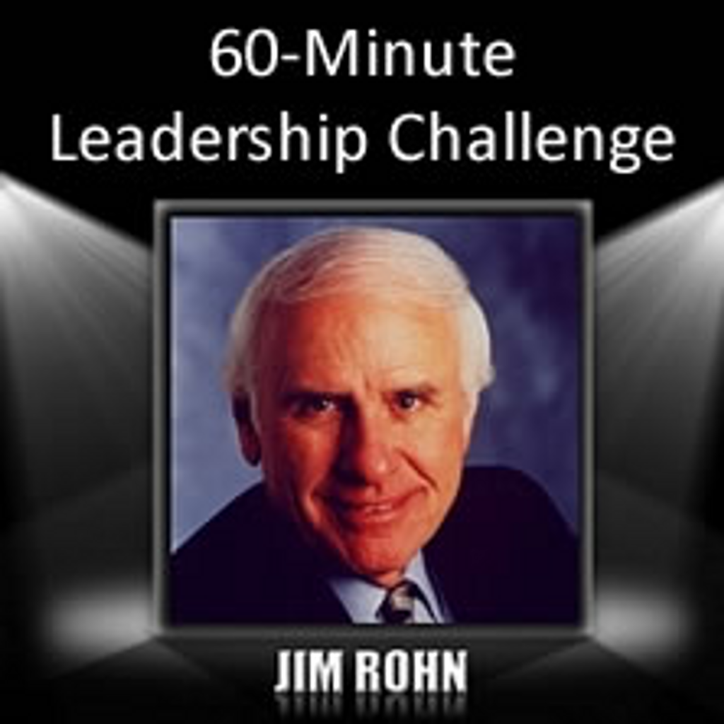 60-Minute Leadership Challenge MP3 Audio by Jim Rohn